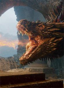 """В сценарии """"Игры престолов"""" нашли объяснение действий дракона Дрогона"""