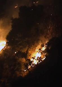 Пожарные спасли от огня студию Warner Bros.