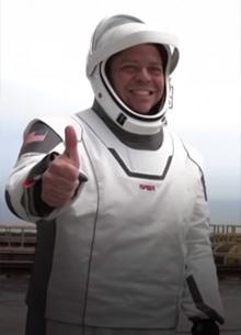 Шлемы астронавтов SpaceX придумал дизайнер костюмов Тора и Локи