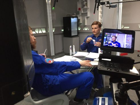 Сергей Мезенцев готовит Александра Паля и Никиту Кукушкина к полету на Марс