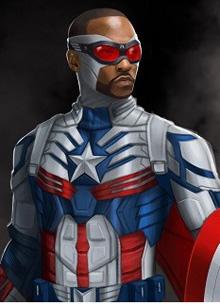 Энтони Маки готов играть Капитана Америку еще восемь лет