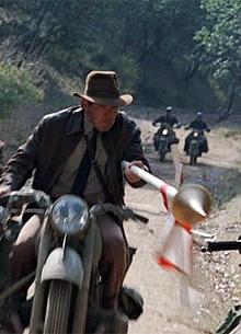 """На съемках """"Индианы Джонса 5"""" заметили нацистскую технику"""