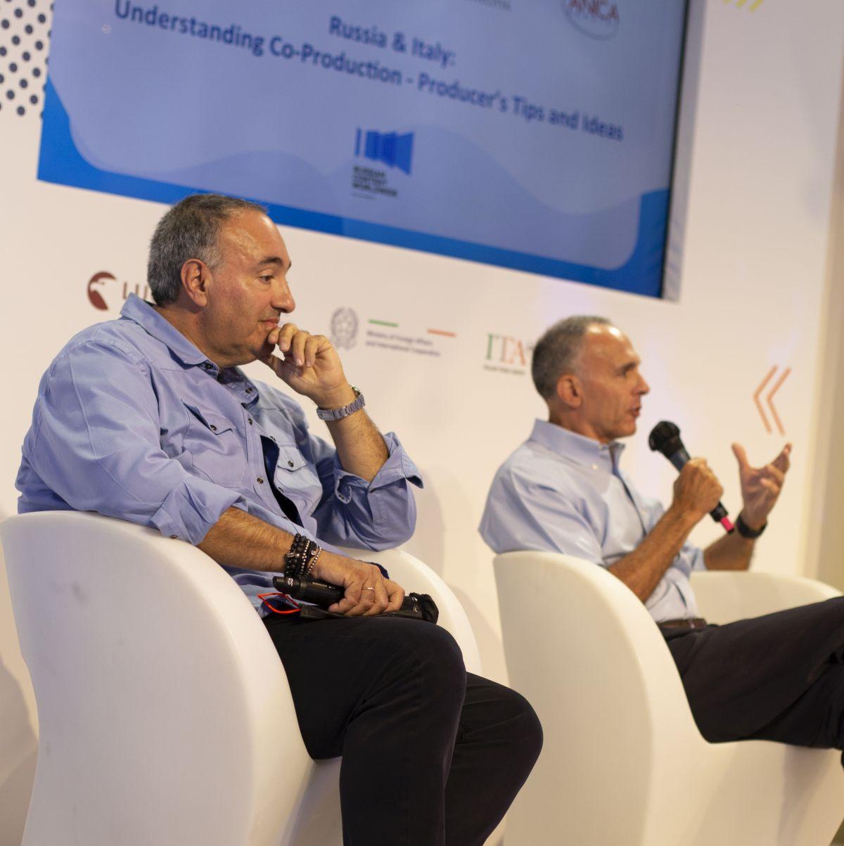 Итальянские и российские кинематографисты обсудили перспективы сотрудничества на Венецианском фестивале