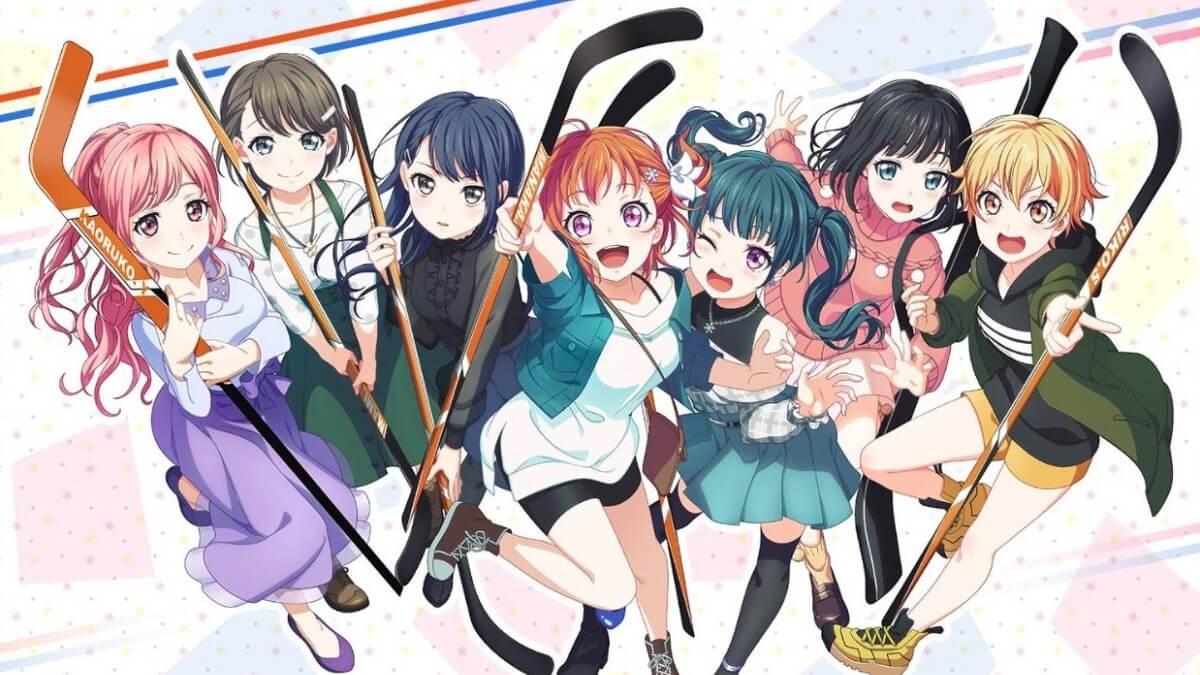Хоккей со звездами: трейлеры аниме, в котором школьные подруги полюбили суровый спорт