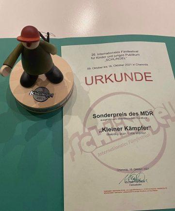 «Маленький воин» Ильи Ермолова отмечен наградой на фестивале детского и юношеского кино Schlingel